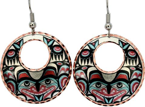 Indigenous Art Dangle Earrings