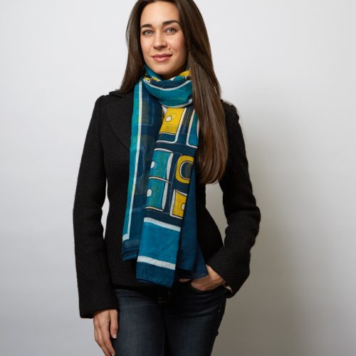 The Chilkat Voile Scarves