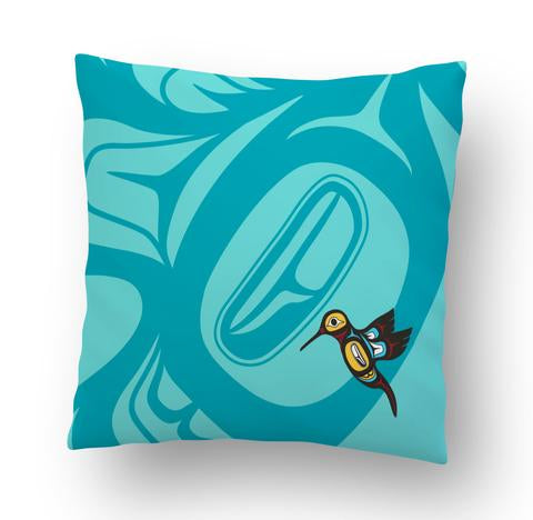 Hummingbird' Cushion Cover