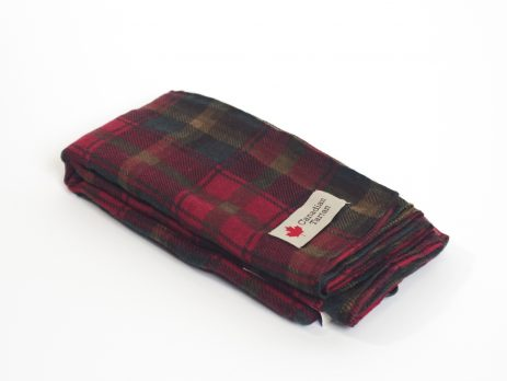Canadian Tartan Voile Scarf