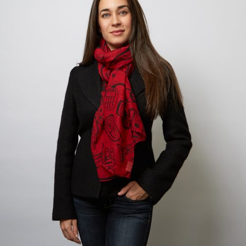 "Haid ""Dreamtime""Voile Scarves"
