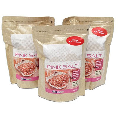 HIMALAYAN EDIBLE PINK SALT BAG - FINE (500 G)