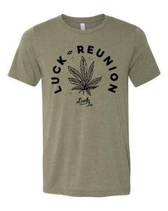 2018 Luck Reunion Weed T-Shirt