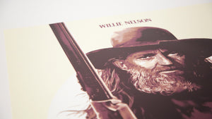 Red Headed Stranger Limited Edition Screen Print