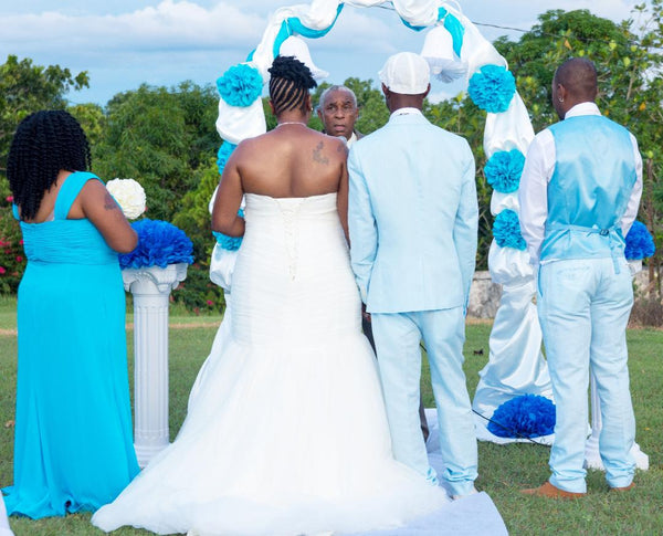 shenor collections jamaica wedding, wedding planner