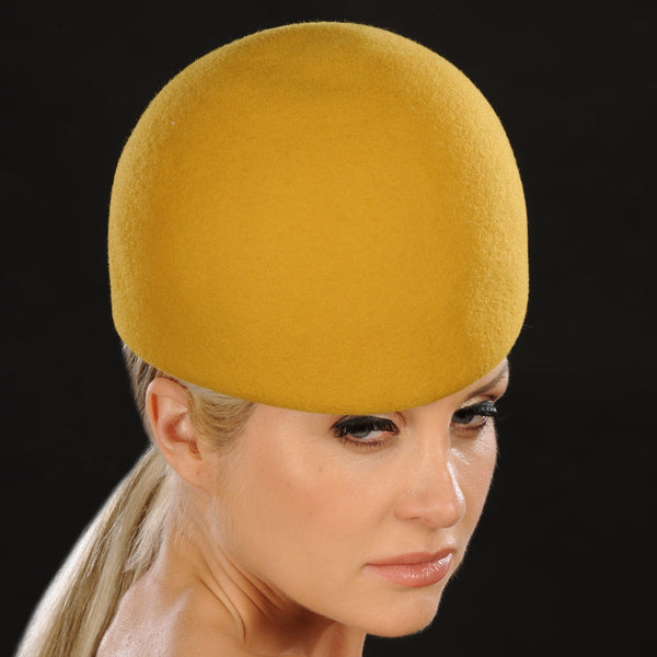 FW1140-Ladies winter hats in mustard - SHENOR COLLECTIONS