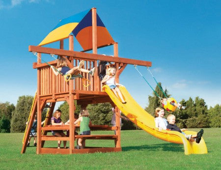 Playhouse 5 w/ Double Swing Arm