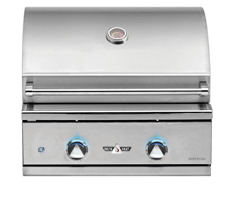 "26"" Delta Heat Grill Head NG"