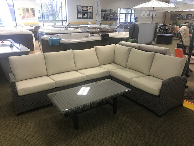 Tonic Sectional + Coffee Table