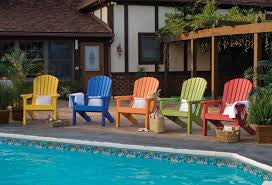 Adirondack Chair - Comfo Back - Standard Colors