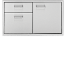 "30"" Wide Door & 3 Drawer Combo"