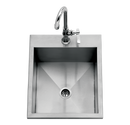 "15"" Drop-in Sink w/ Faucet"