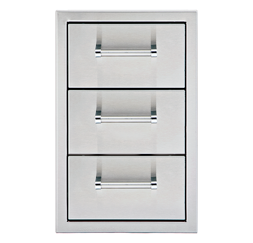 "13"" Triple Storage Drawers"