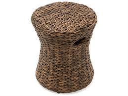 CAYMAN WOVEN DRUM STOOL