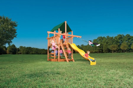 Playhouse XL 5 w/ Double Swing Arm