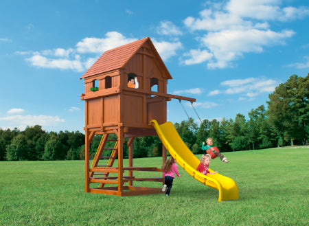 Playhouse 6 w/ Upper Enclosure #PH.6F