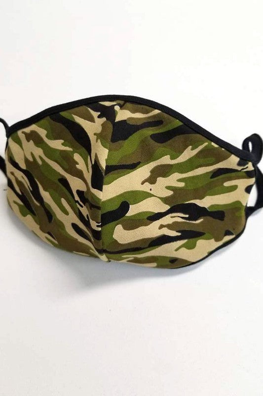 Camouflage Face Mask - Army