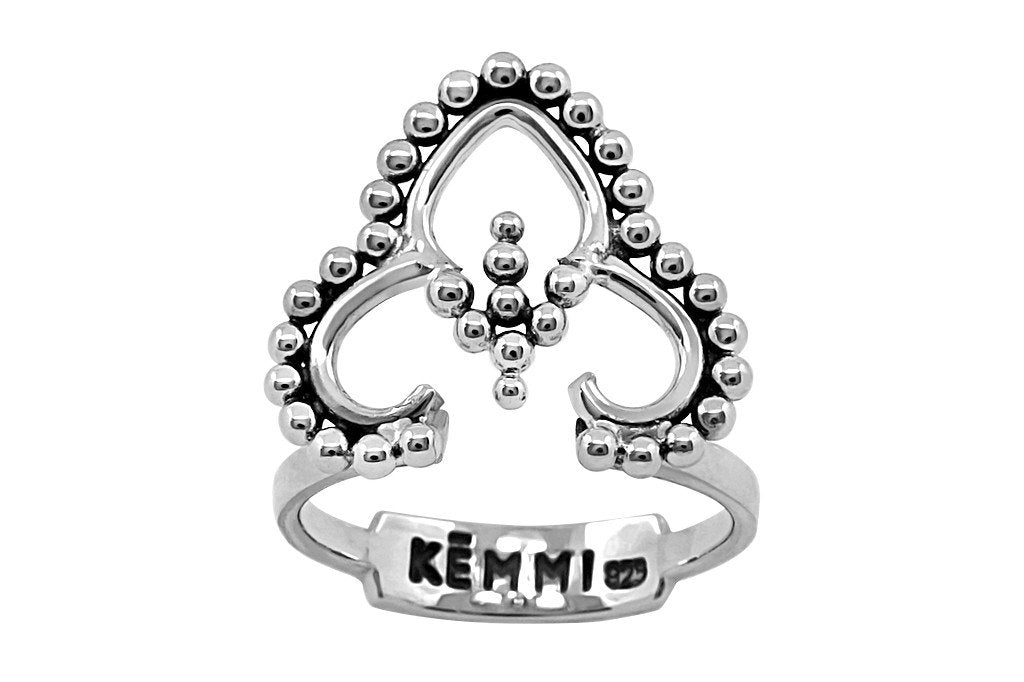 women's sterling silver ring bohemian handmade style kemmi collection