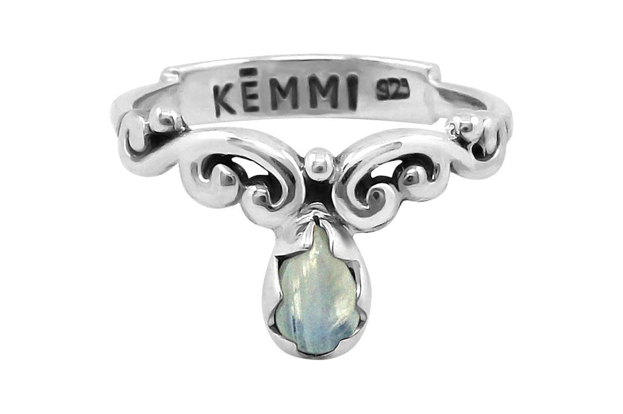 boho sterling silver moonstone boho chic gypsy jewelry handmade kemmi collection