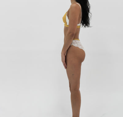 Lingerie Daisy Yellow Bottom