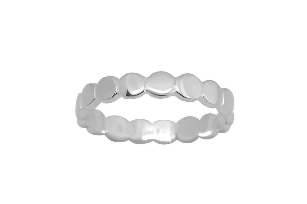 women's sterling silver ring classic band eternity dots jewelry kemmi collection