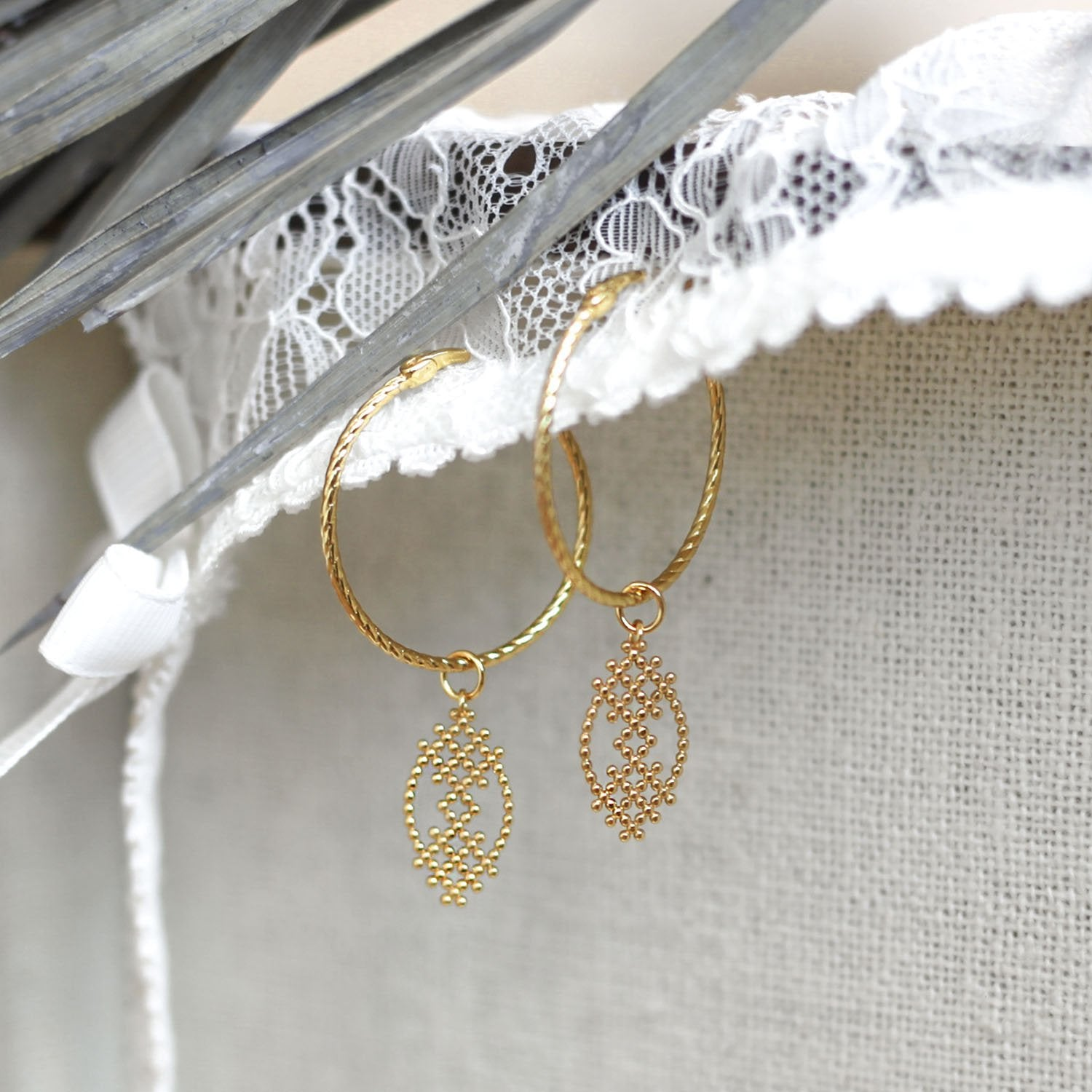 Gold Selma Earrings