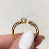 Yellow Gold Oceanne MS Ring