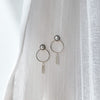 Silver Liya Pearl Earrings