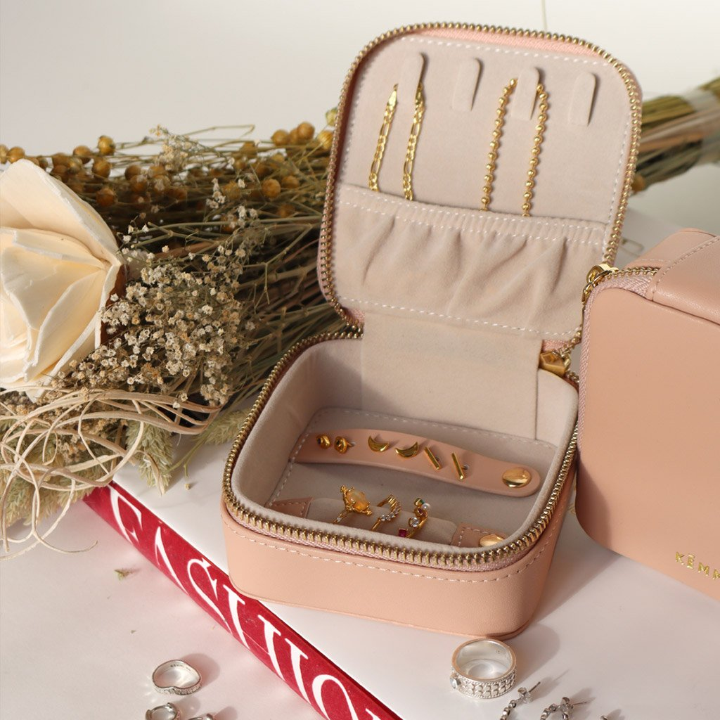 Jewelry Travel Case (leather)