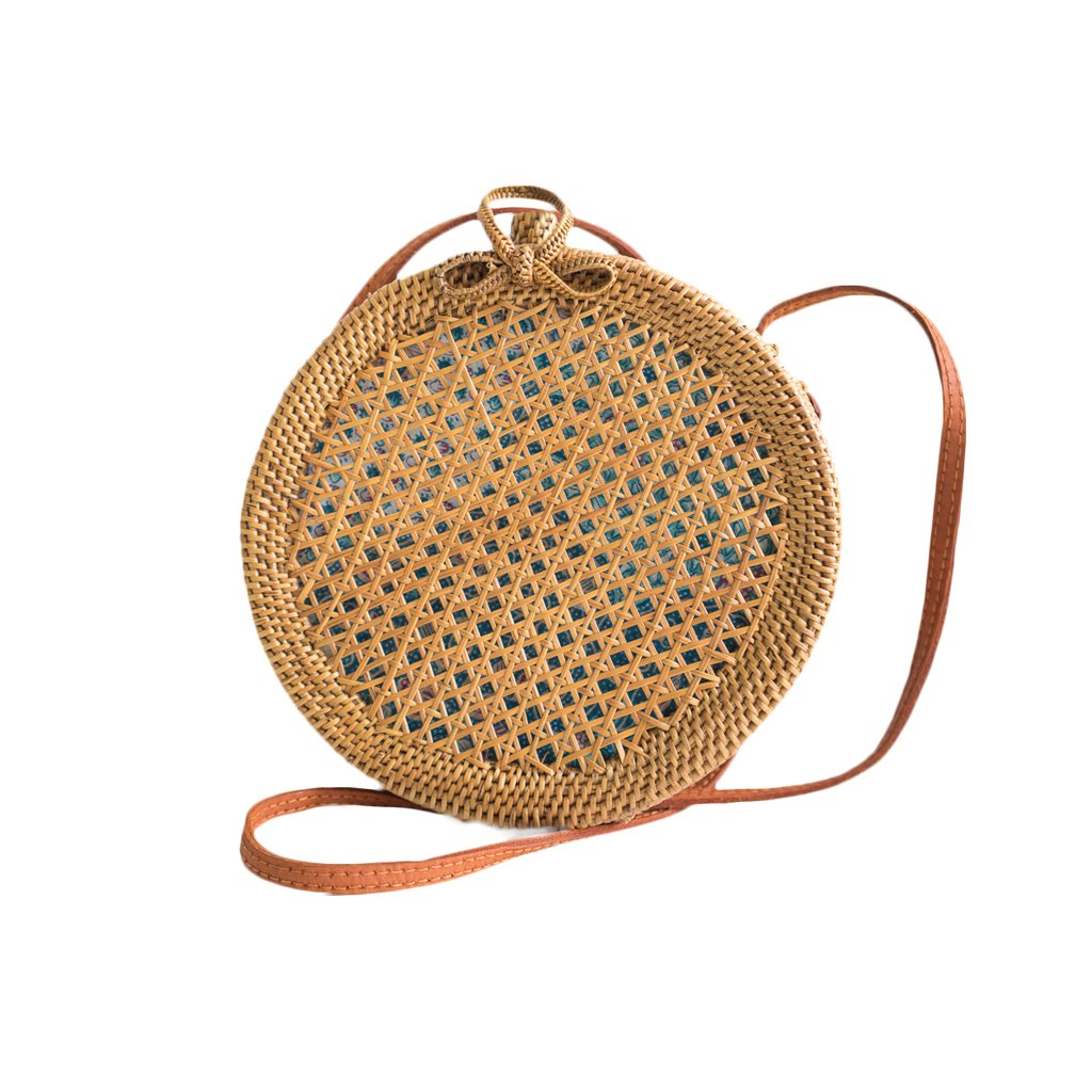 Classic Round Natural Mesh Bag
