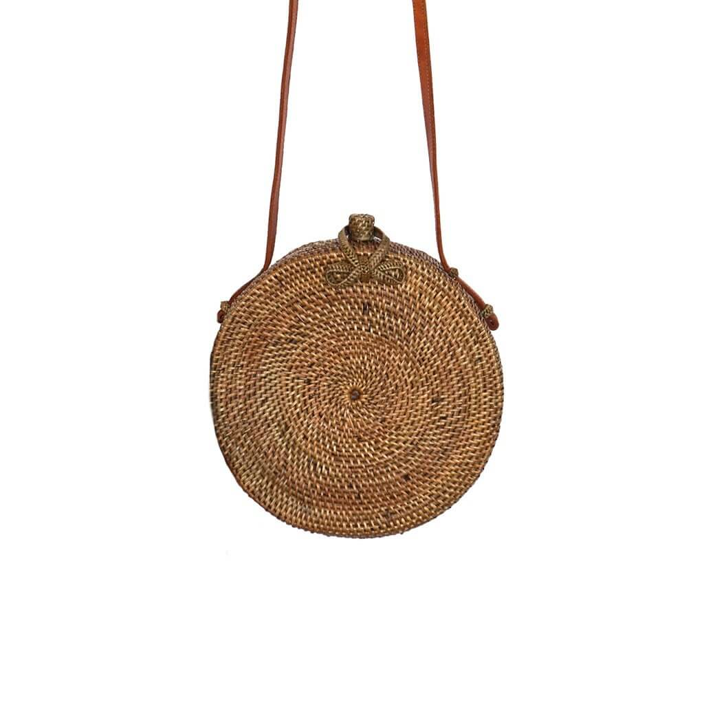 Classic Round Natural Bag