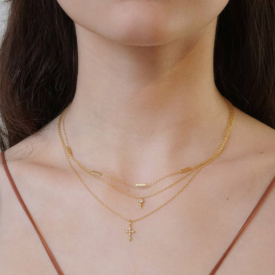 14 k gold vermeil layered necklaces dainty style kemmi jewelry boho chic elegant