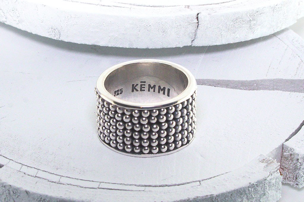 Dotted womens silver glam boho chic style festival kemmi collection