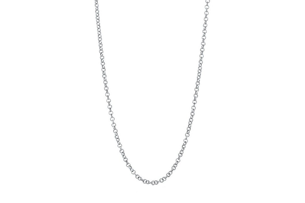 men's rolo chain sterling silver necklace accessory kemmi collection