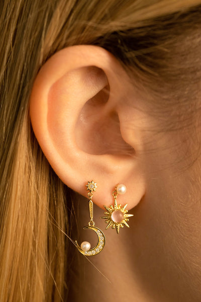 Summer Night Earrings