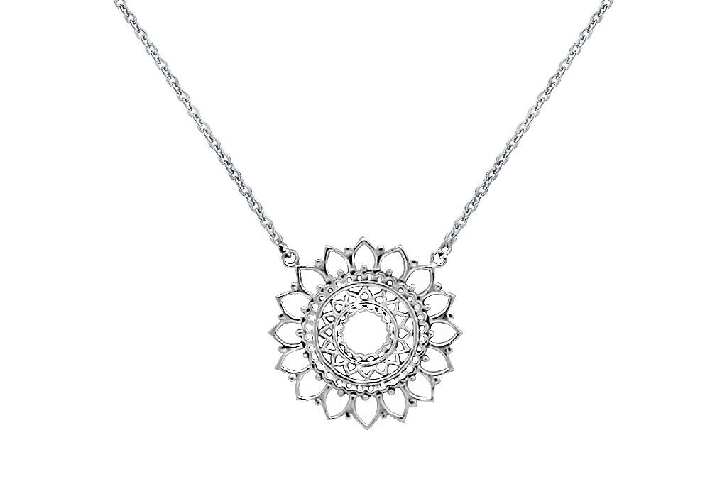 necklace the mandala orenda products handmade yoga closet product image