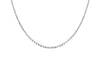 sterling silver choker necklace adjustable handmade by kemmi collection