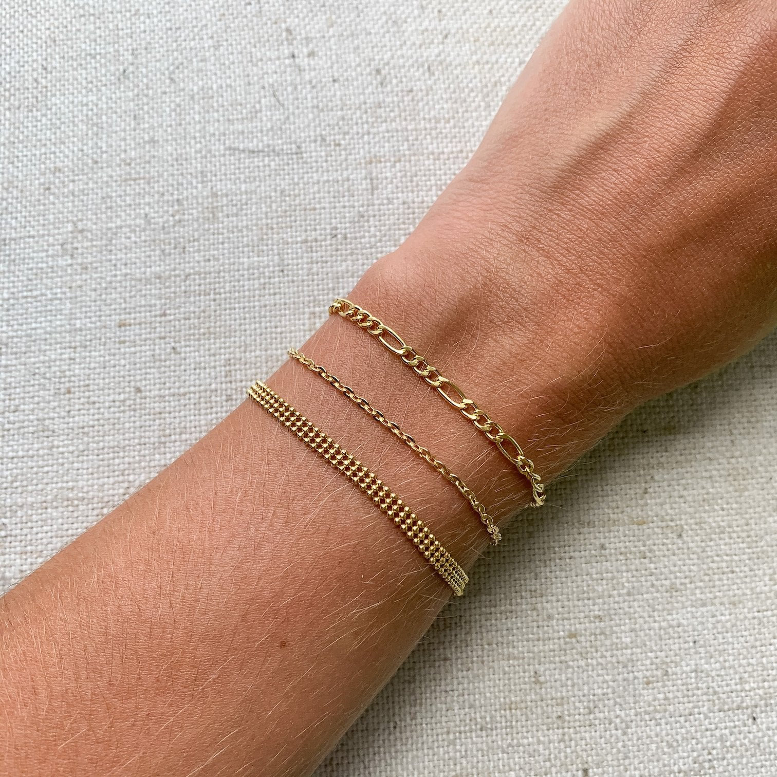 14k gold classic bracelet chains elegant and chic kemmi collection jewelry