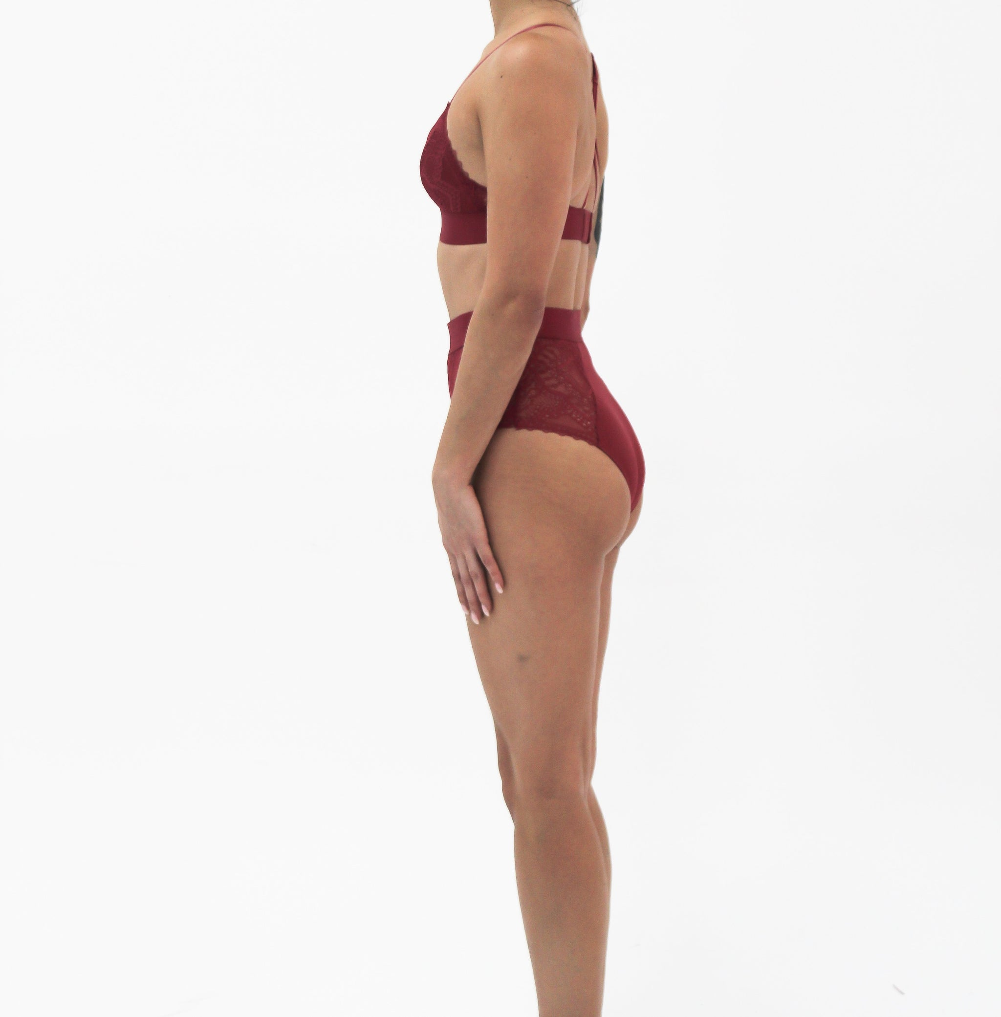 Lingerie Iris Raspberry Bottom