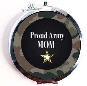 Proud Army Mom - Little Miss Compact