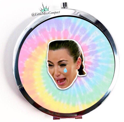 Crying Kim Tie Dye - Little Miss Compact