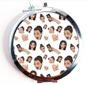 Crying Kim K #2 - Little Miss Compact