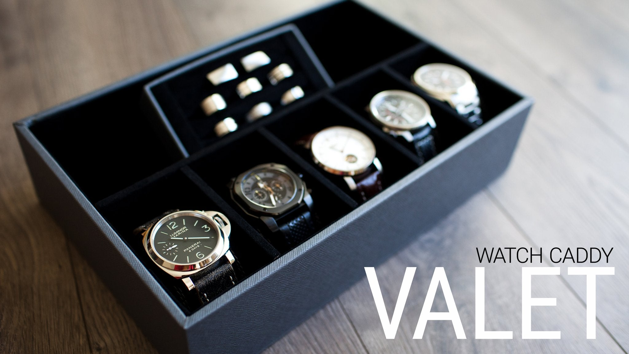 Watch Caddy Valet Tray Watch Box