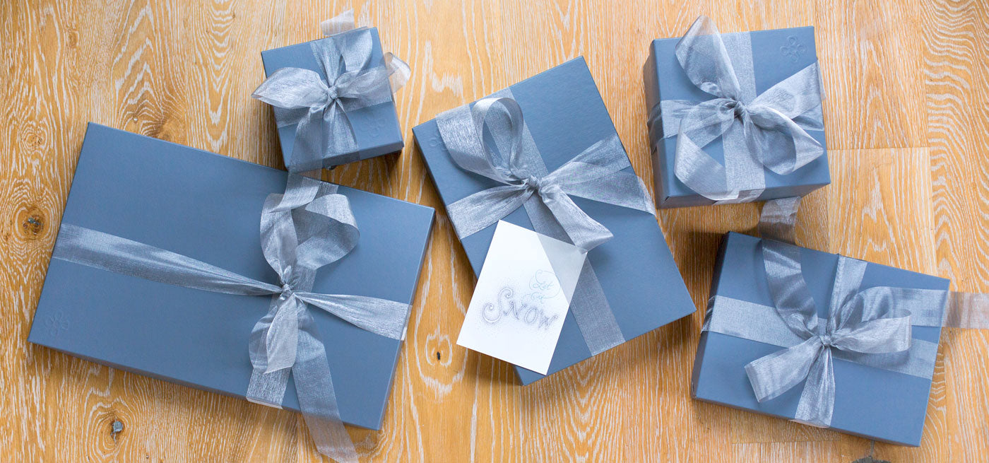 k colette classic slate blue gift wrapping