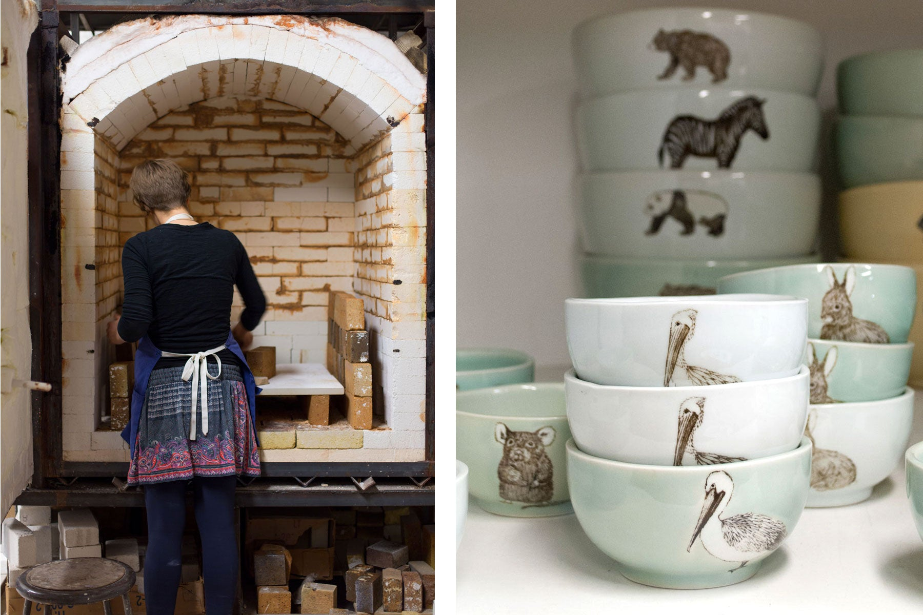 skt ceramics - readying the kiln