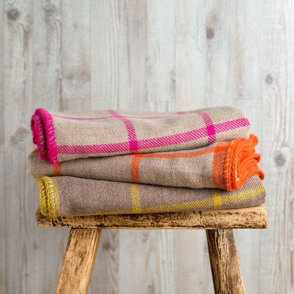 graydon baby alpaca throw-textiles - throws-alicia adams alpaca-taupe & citrus-k colette
