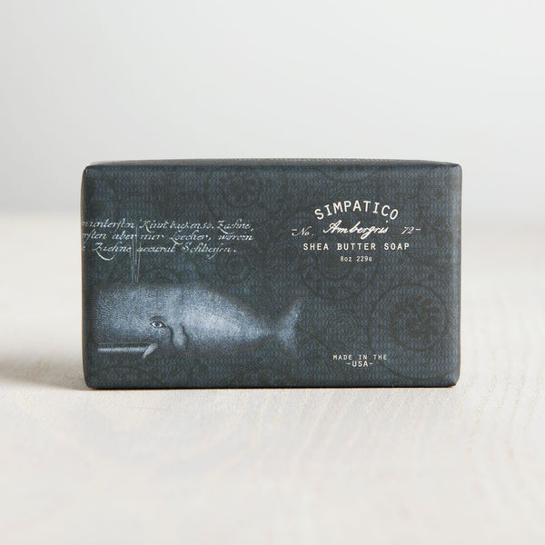ambergris bar soap-apothecary - soaps & lotions-simpatico by k hall designs-Default-k colette