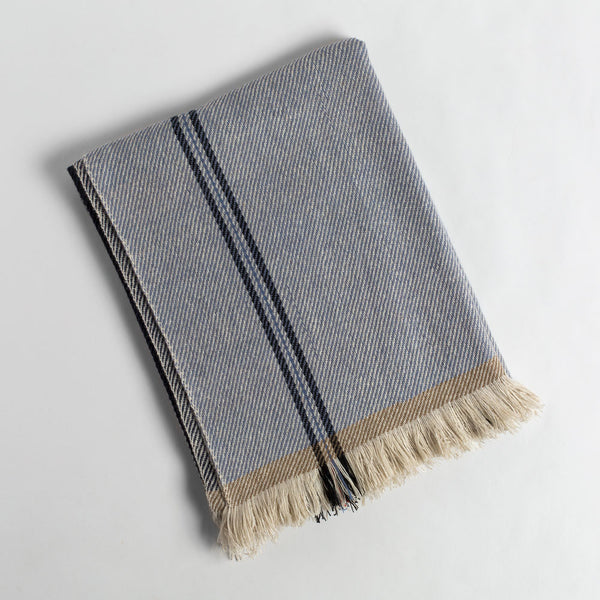 cashmere throw no. 20-art & decor - throws - give-sadhu-k colette