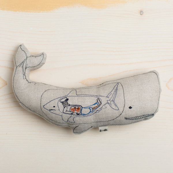 hungry whale doll-baby - toys-coral & tusk-k colette