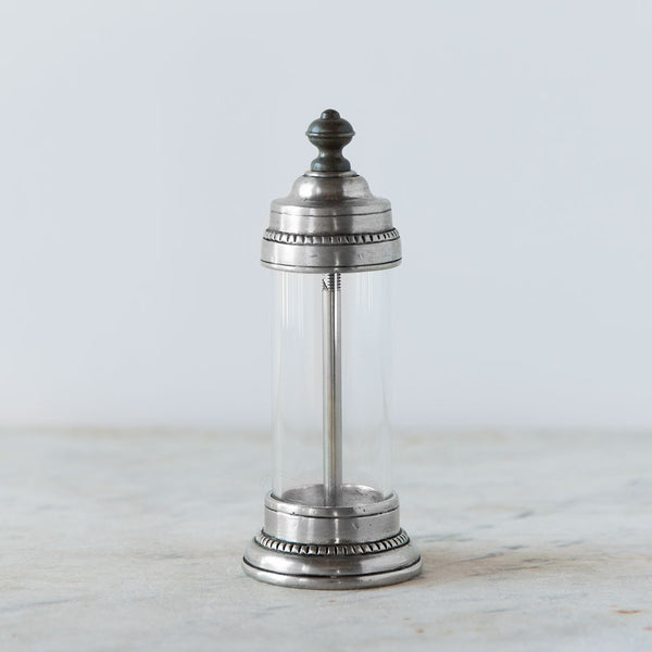 toscana pewter salt mill-kitchen & dining - serveware-match-Default-k colette